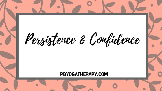 Persistence and Confidence