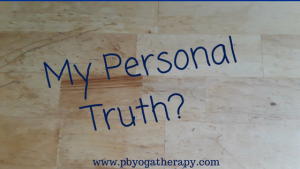 What is your personal truth?